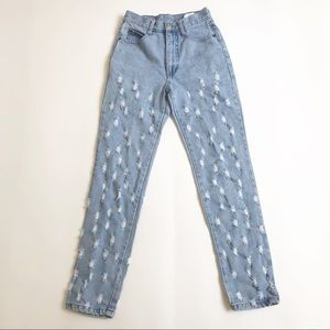 Vintage Steel Mom High Waisted Jeans Size 25